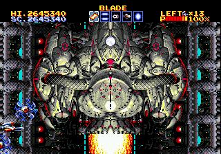 Thunder Force III : boss 1