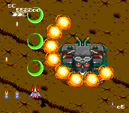 Final Soldier (Hudson Soft 1991).
